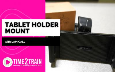 Lamicall Tablet Holder | Indoor Bike Mount