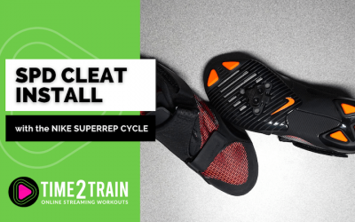 SPD Cleat Install – Nike SuperRep Cycle Unboxing