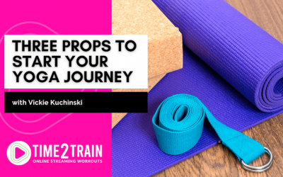 Three Props to Start Your Yoga Journey