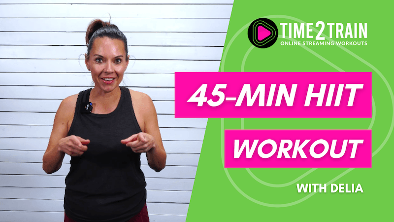 45-Minute At Home Dumbbell HIIT Workout   Workout #1