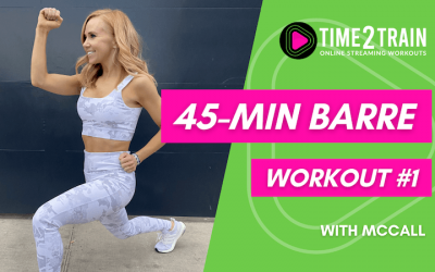 45-Minute At-Home Barre Workout | Workout #1