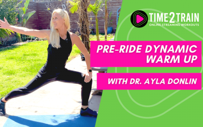 Pre-Ride Dynamic Warm Up   6-minute Routine for Indoor Cycling